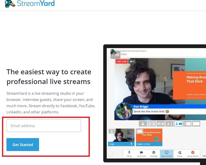雑談・講義に最適なライブ配信!StreamYardで簡単同時配信